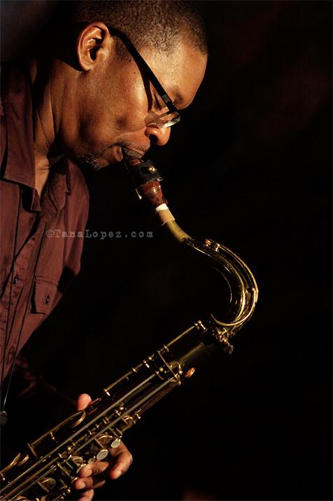 Ravi Coltrane performing live.